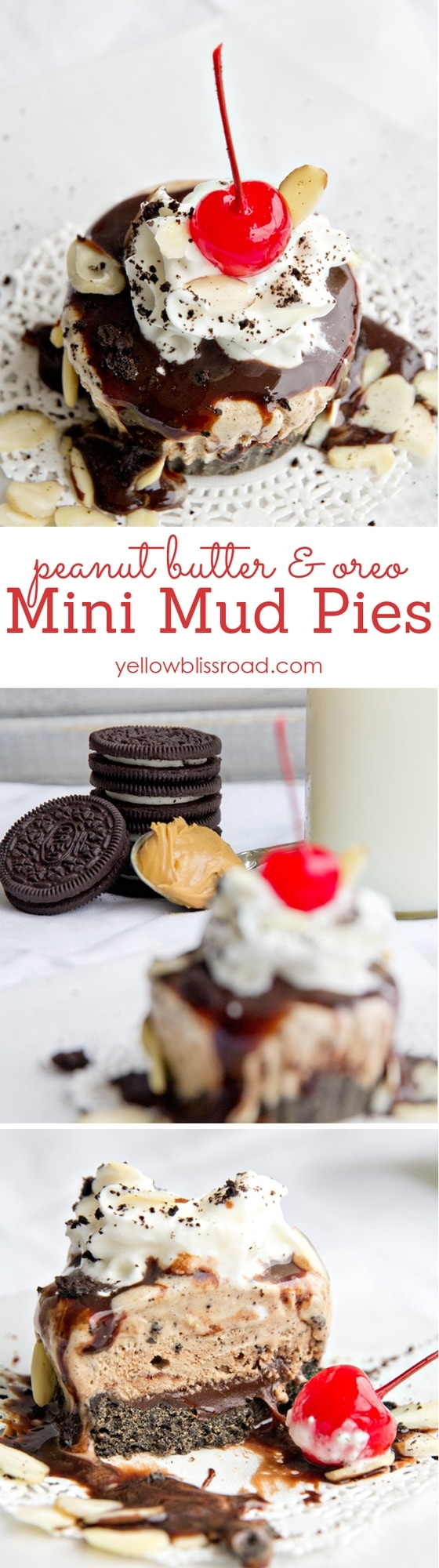 Peanut Butter and Oreo Mini Med Pies