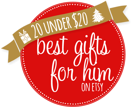 15 Gifts for Him on Etsy for Under $20