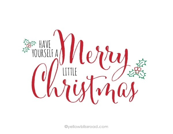 Merry Little Christmas Lyrics.Have Yourself A Merry Christmas Lyrics Decorating Ideas