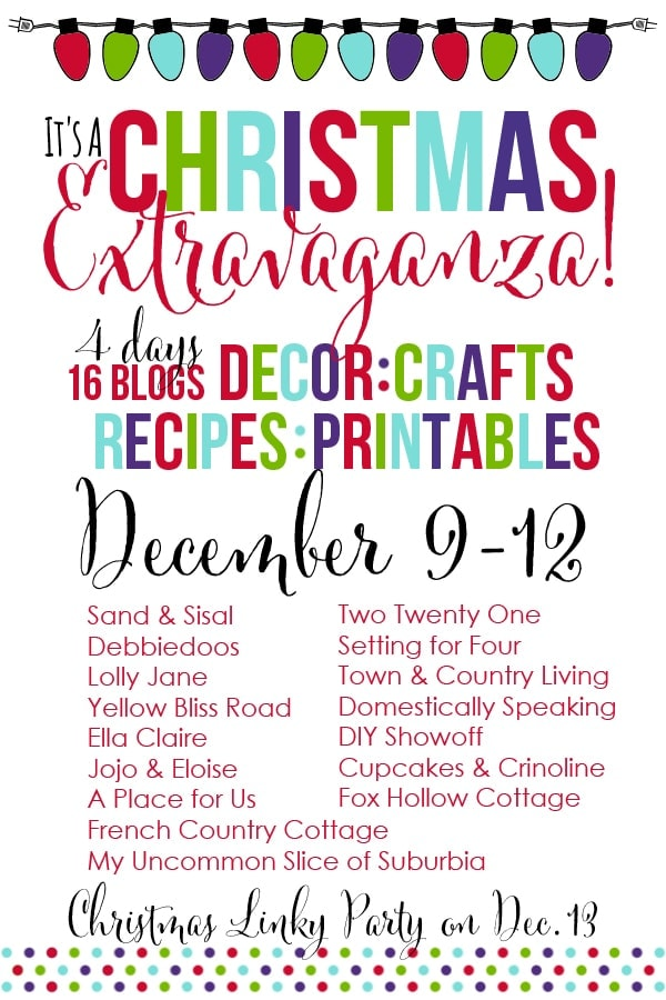 Christmas Exravaganza Blog Hop and Linky Party Graphic