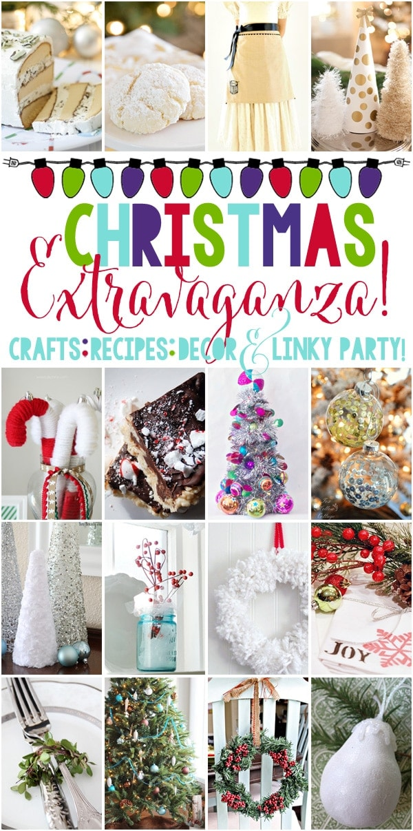 16 beautiful ideas and inspirations for Christmas (and a linky party!!)