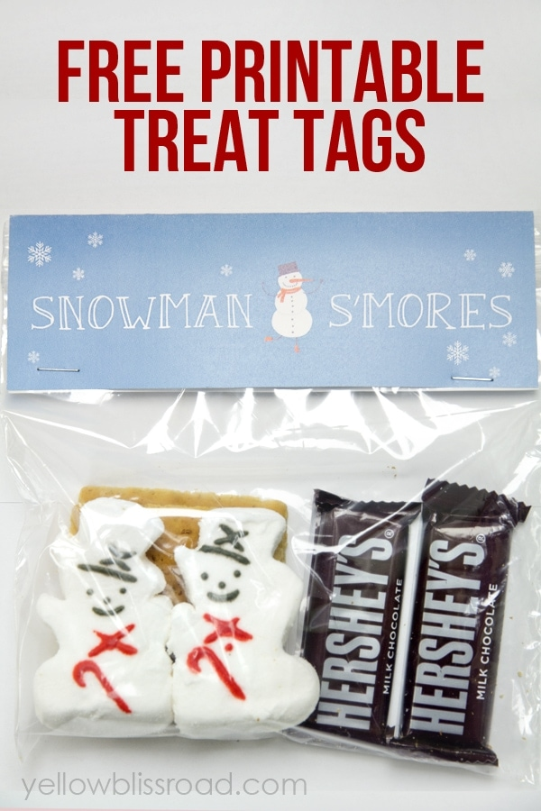 to share my latest printable with you today – These adorable Snowman ...