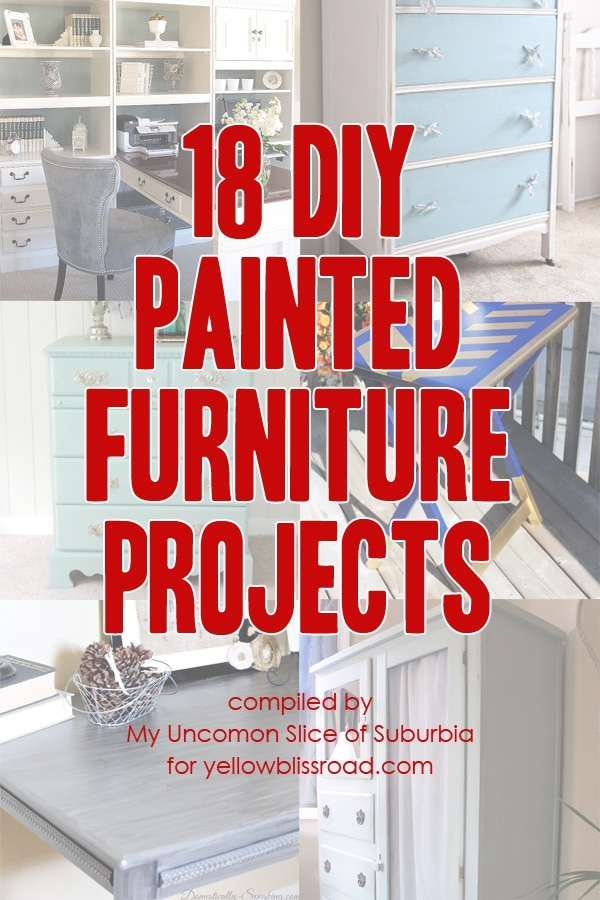 18 DIY Painted Furniture Projects