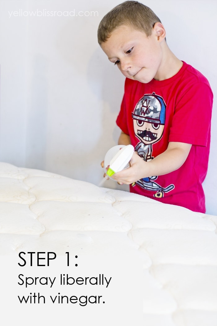 How to Remove Urine Stains and Odors from a Mattress