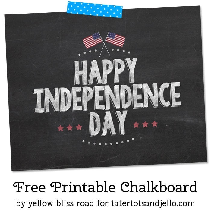 Happy Independence Day Sign