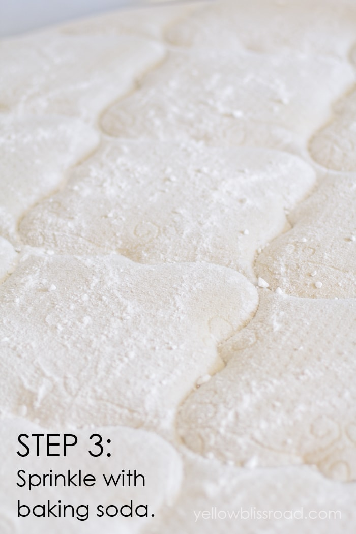 how to clean yellow stains from linoleum