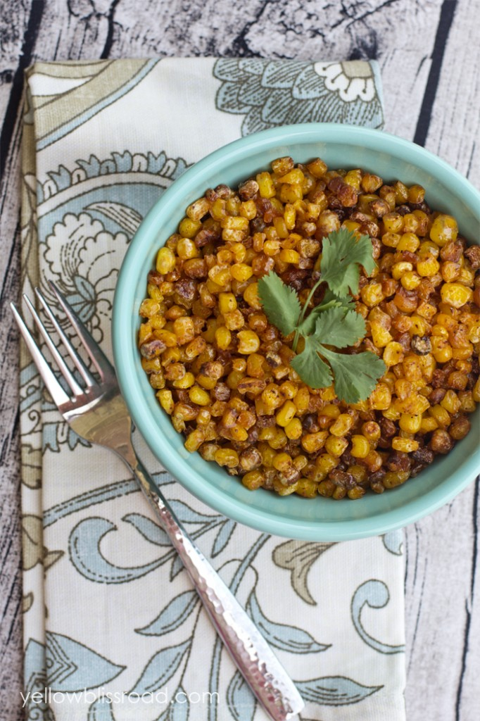 Oven Roasted Corn with Barbecue Seasoning