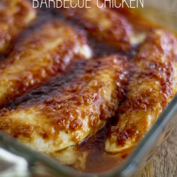 Brown Sugar Garlic Barbecue Chicken title