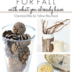 Tips on Decorating for fall with what you already have