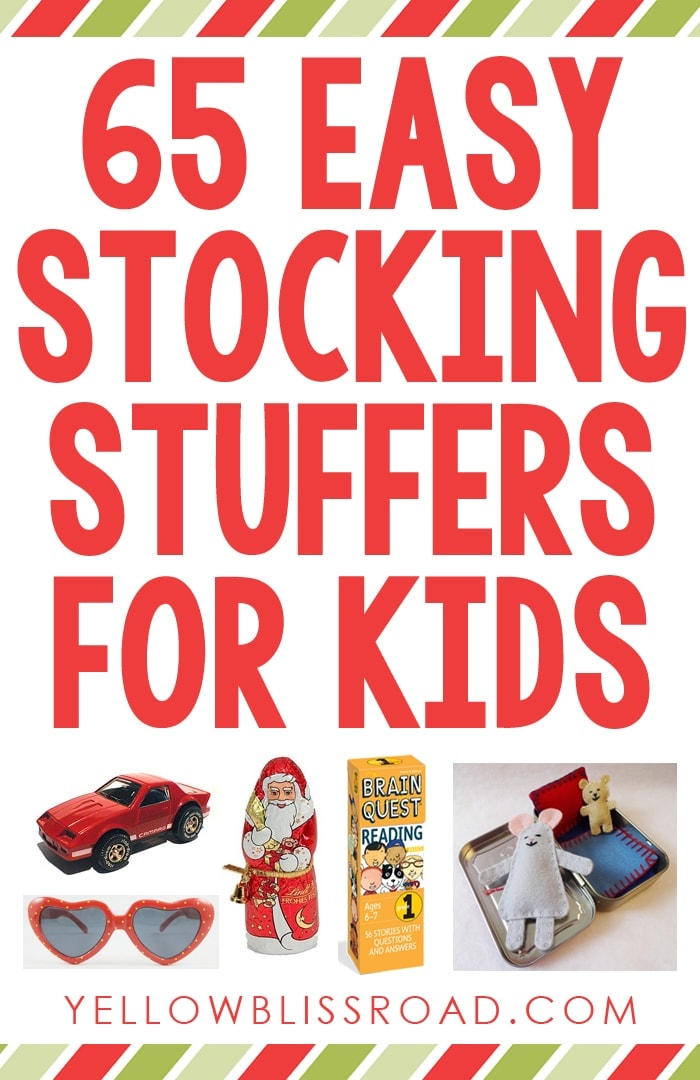 65 Stocking Stuffers For Kids And A Giveaway Yellow