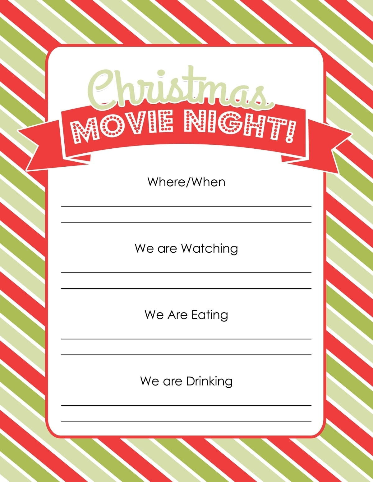 christmas party invites wording