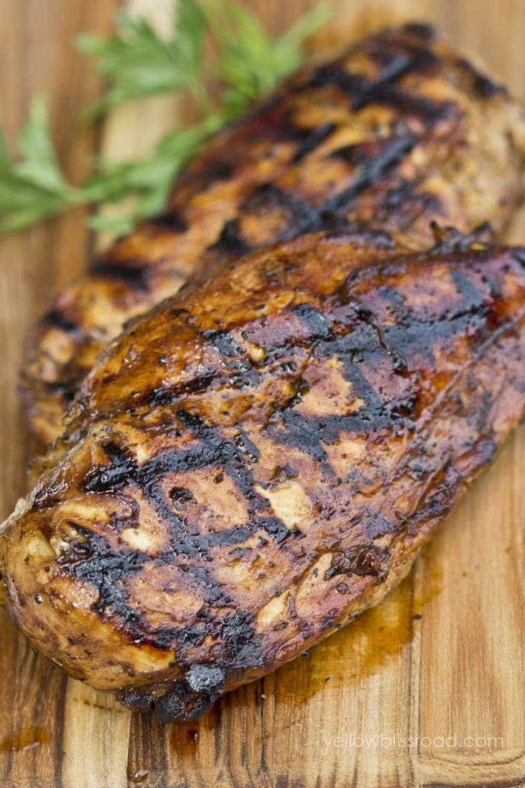 Balsamic Orange Grilled Chicken
