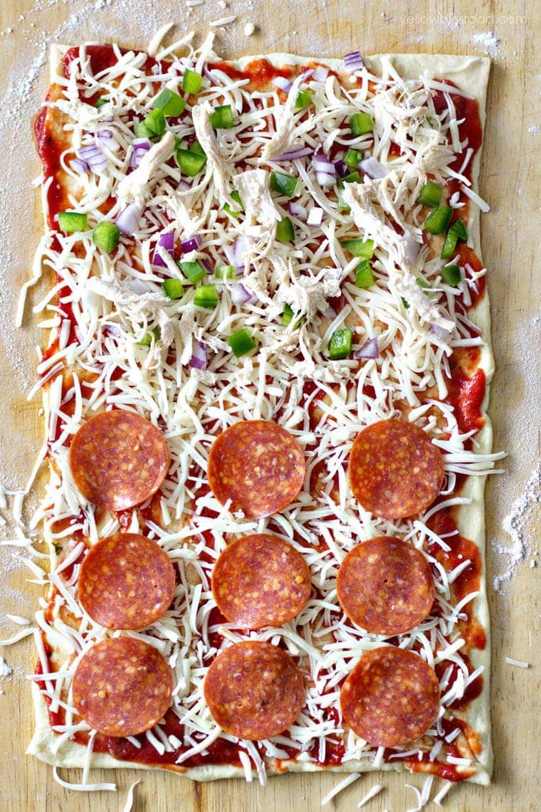 Pizza Rolled Out