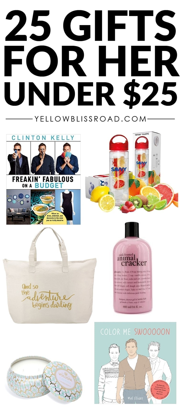 Christmas Gift Ideas for HER to Fit Every Budget - Yellow ...