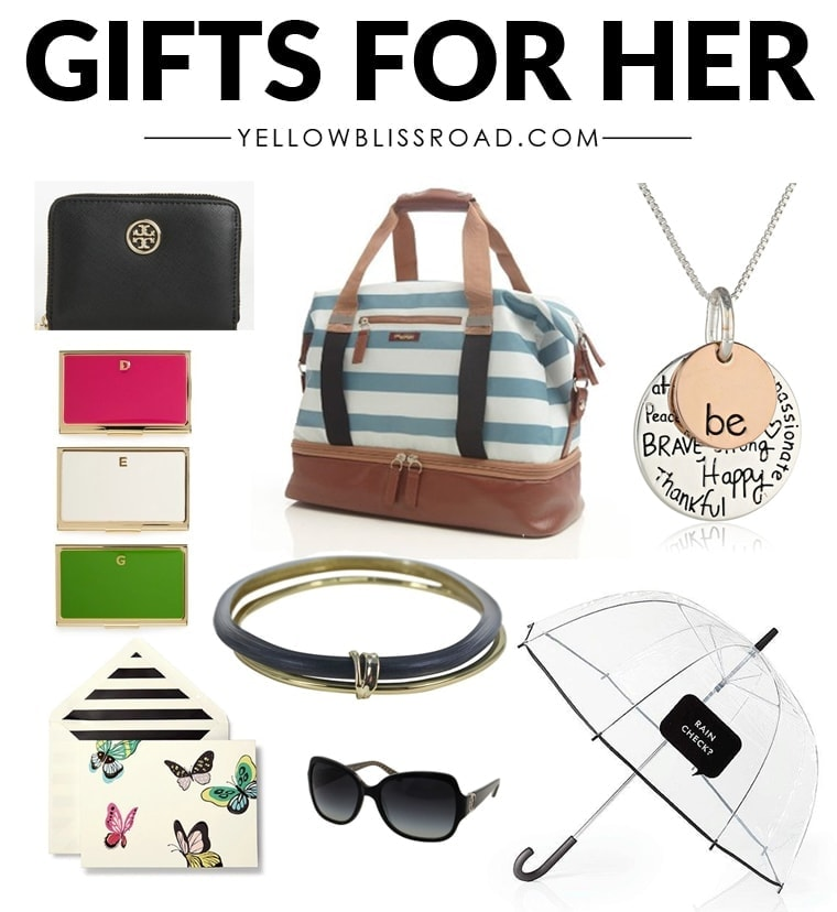 Gifts For Her For Christmas: Christmas Gift Ideas For HER To Fit Every Budget