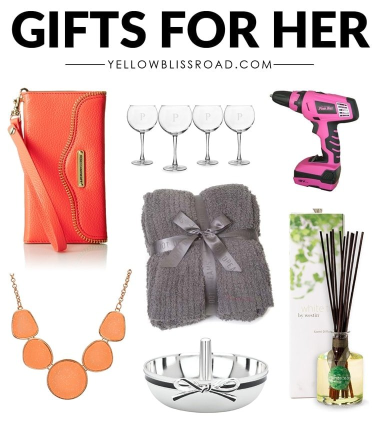 christmas gift ideas for her to fit every budget yellow