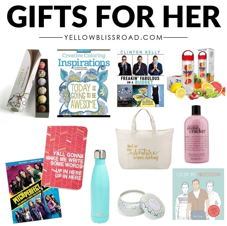 Christmas gift ideas for her to fit every budget yellow Ideas for womens christmas gifts under 25