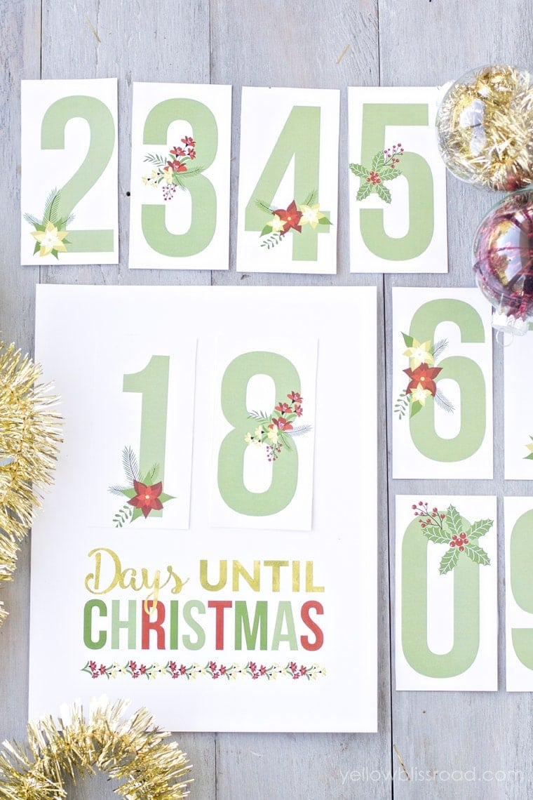 My favorite part about this printable Christmas Countdown is that you ...