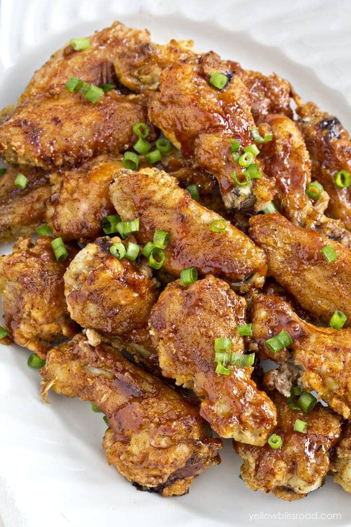 'Home-Schooled' BBQ Chicken Wings Recipes — Dishmaps