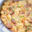 Creamy Tortellini and Sausage